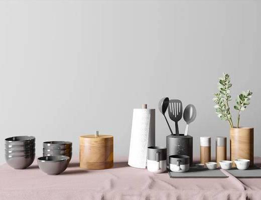 北欧简约餐具组合, 简约餐具组合, 北欧餐具组合, 餐具组合, 餐具