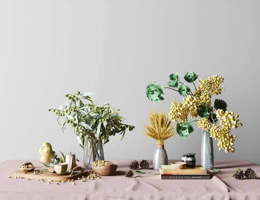 后现代花瓶组合, 后现代茶具组合, 食物组合, 茶具组合, 花瓶组合