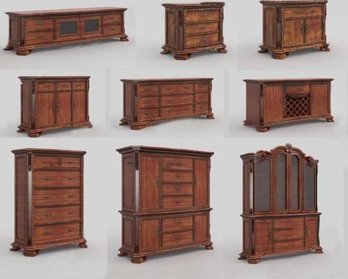 柜架组合, 电视柜, 玄关柜, 酒柜, 衣柜