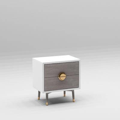 现代床头柜, 床头柜
