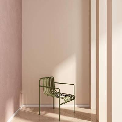 北欧单椅, 单椅, 铁艺单椅