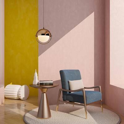 现代单人沙发, 单人沙发