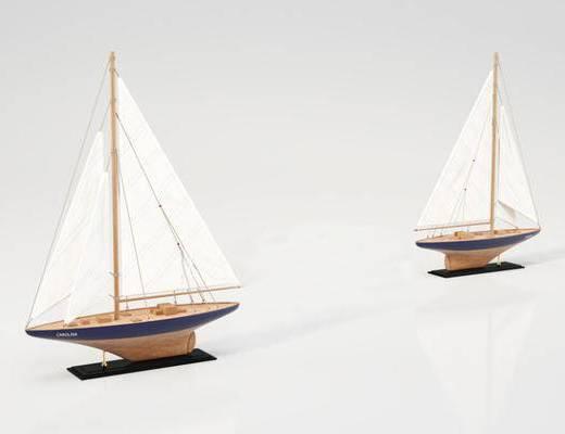 現代擺件, 擺件, 船