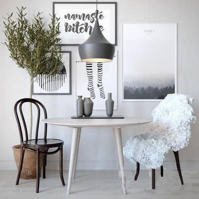 北欧桌椅, 桌椅组合, 桌椅