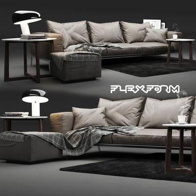 现代多人沙发, 沙发组合, 多人沙发