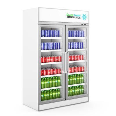 现代饮料柜, 饮料柜