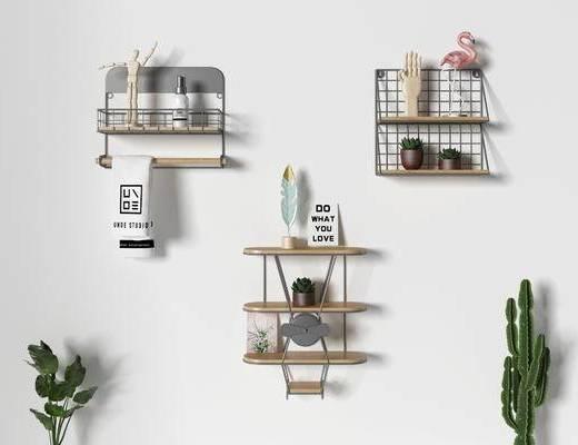 北欧架子, 架子组合, 装饰柜架