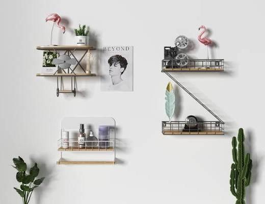 北欧装饰架, 装饰柜架, 装饰架