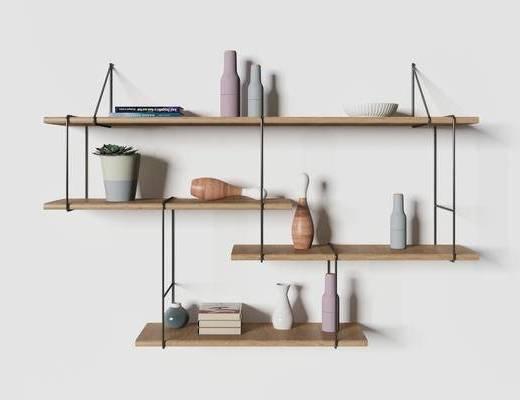 置物架, 现代置物架, 装饰柜架