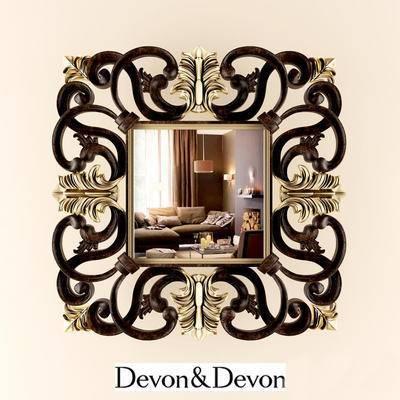 欧式壁镜, 壁镜, 镜子