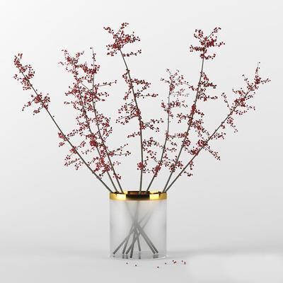 现代花瓶花卉, 花瓶花卉, 摆件, 现代摆件