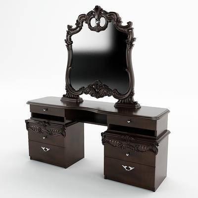 美式化妆桌, 化妆桌