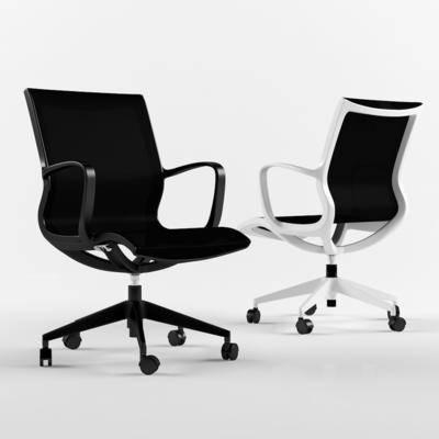 现代办公椅, 办公椅, 椅子