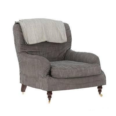 美式单人沙发, 单人沙发, 美式沙发, 沙发