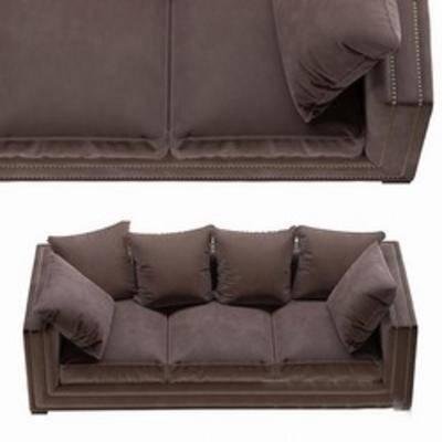 美式三人沙发, 沙发, 多人沙发