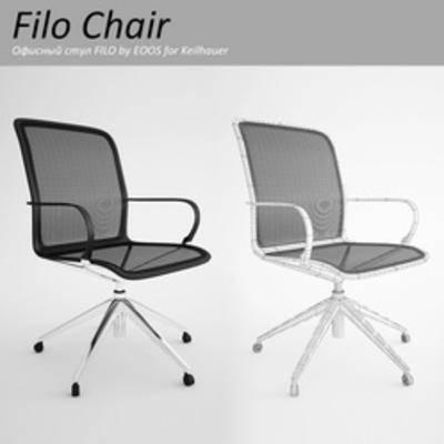 现代椅子, 办公室椅子, 椅子