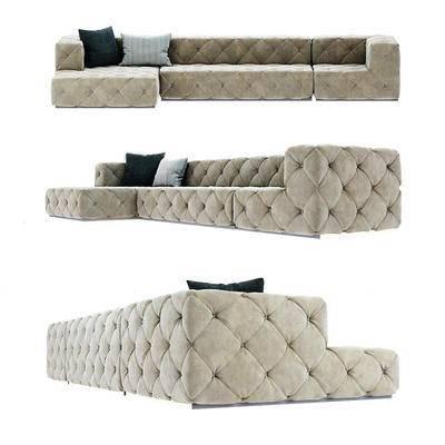 现代沙发, ?#23478;?#27801;发, 多人沙发, 沙发, 转角沙发