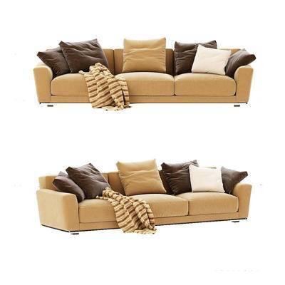 现代沙发, ?#23478;?#27801;发, 沙发, 多人沙发