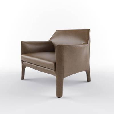 现代沙发, 单人沙发, 沙发
