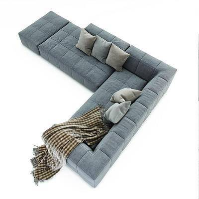 现代沙发, 多人沙发, 转角沙发, 沙发