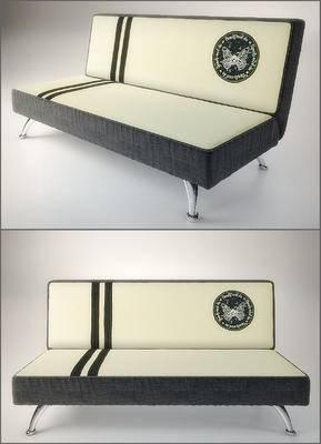 现代沙发, 简约沙发, 沙发, 多人沙发
