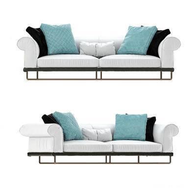 现代沙发, 双人沙发, 沙发