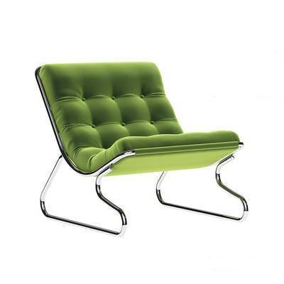 现代沙发椅, 休闲沙发椅, 沙发椅