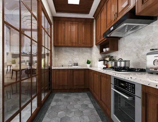 现代厨房, 厨房