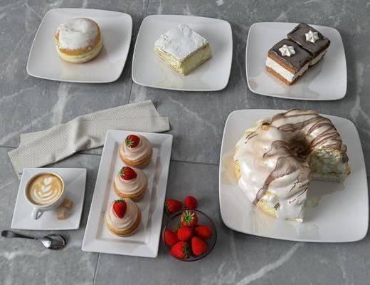 奶油蛋糕, 食物