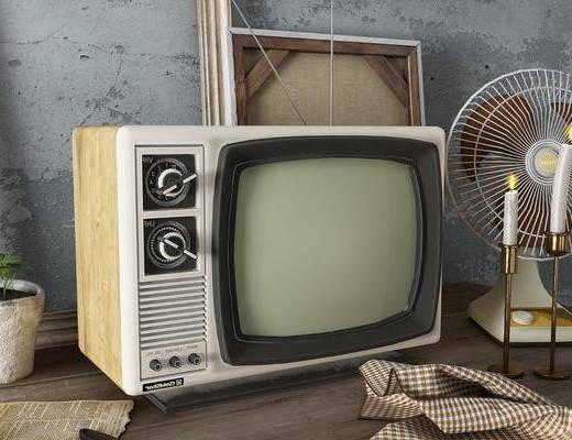 电风扇, 电视机, 电器
