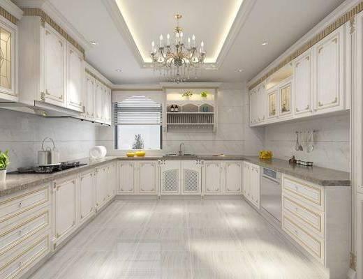 厨柜, 欧式厨柜, 厨房