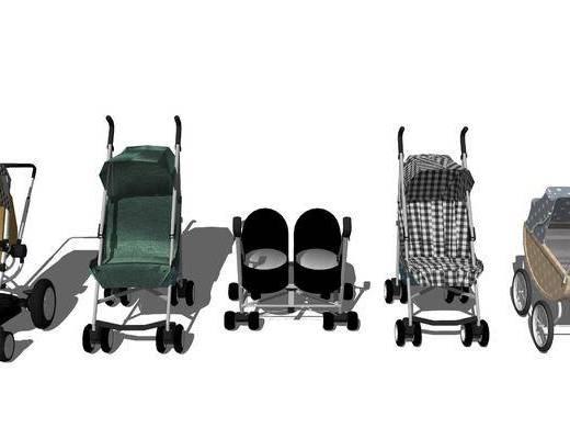 婴儿车, 婴儿用品