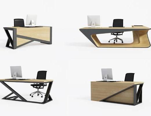 写字台, 班台, 办公桌, 电脑桌