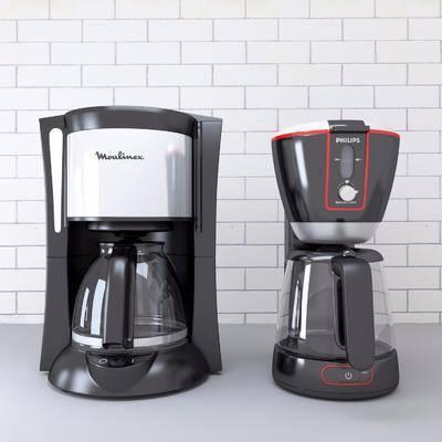咖啡机, 厨房电器, 现代