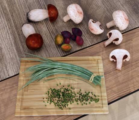 蔬菜, 蘑菇