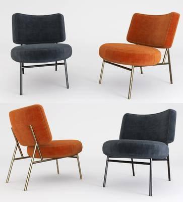 休闲椅, 单人椅, 现代