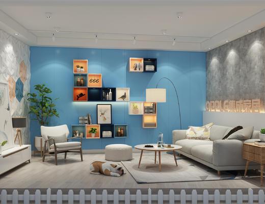 家具展, 展厅, 展会, 展览, 北欧, 北欧沙发