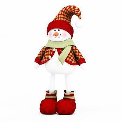 雪人, 玩具, 玩偶, 布偶