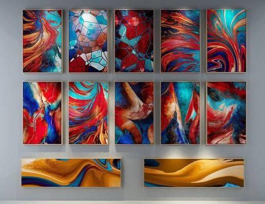 装饰画, 挂画, 新中式挂画, 新中式装饰画, 新中式