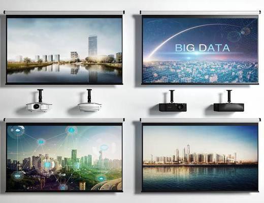 电视机, 电器, 屏幕