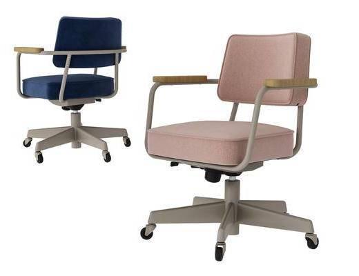 现代, 简约, 办公椅, 单椅, 休闲椅