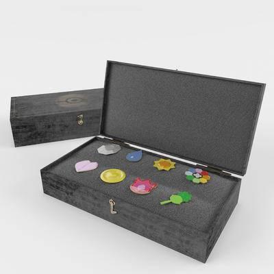 收纳盒, 首饰盒, 现代, 珠宝盒
