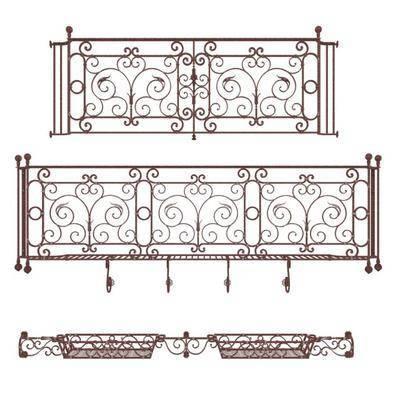 围栏, 现代围栏, 阳台围栏, 铁艺围栏, 现代, 双十一