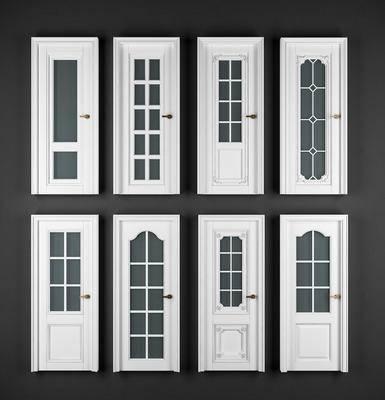 门, 推拉门, 门构件, 构件