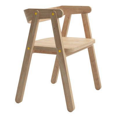 单椅, 木椅, 儿童椅