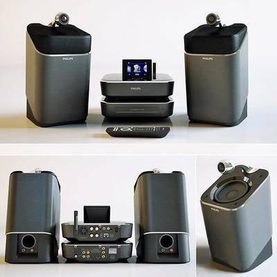 音响, 光碟机, 遥控器, 现代