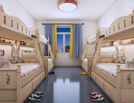 现代寝室, 寝室, 上下床