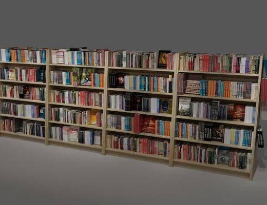 现代书架, 书架, 书柜