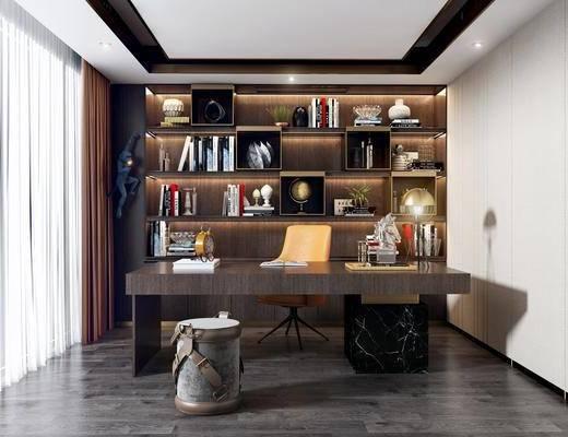 家装, 现代风格书房