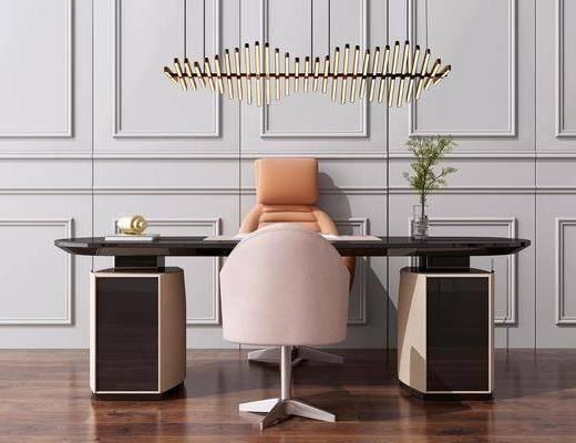 吊燈, 洽談桌, 桌椅組合